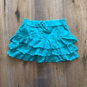 Old Navy Tiered Ruffle Eyelet Skirt